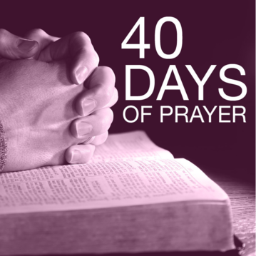 Waterfront Church | 40 Days of Prayer