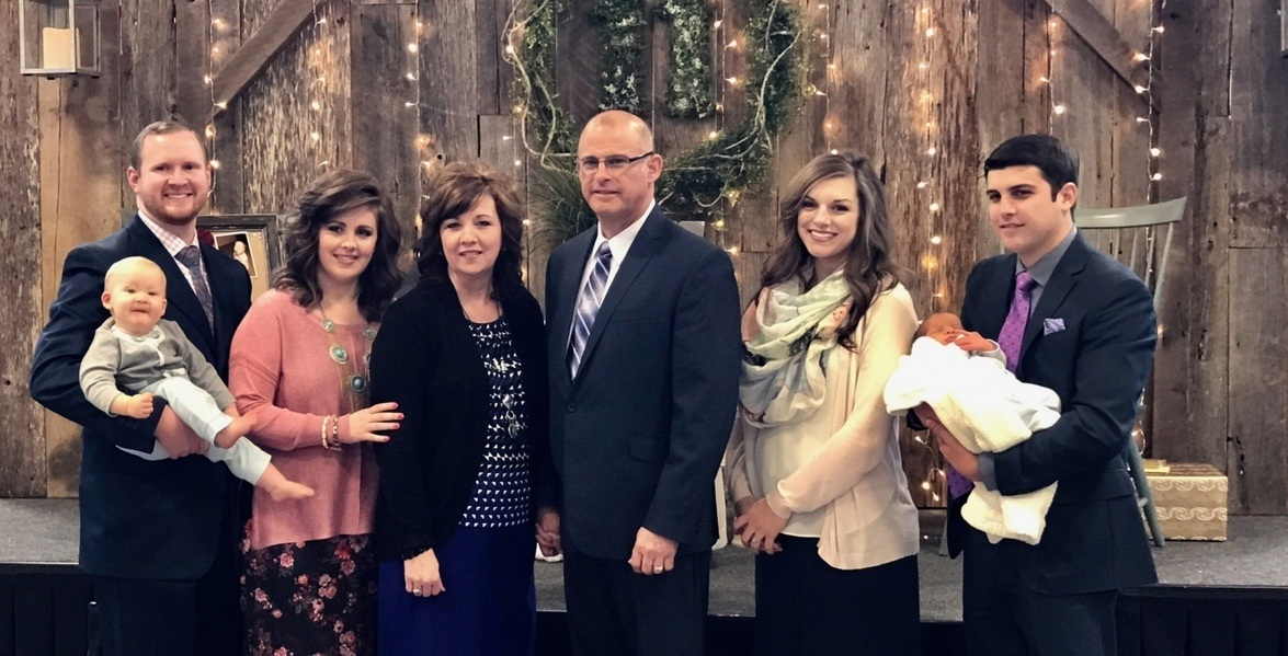 Mayfield Creek Baptist Church Pastor And Family