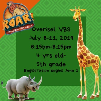 Overisel Reformed Church | VBS