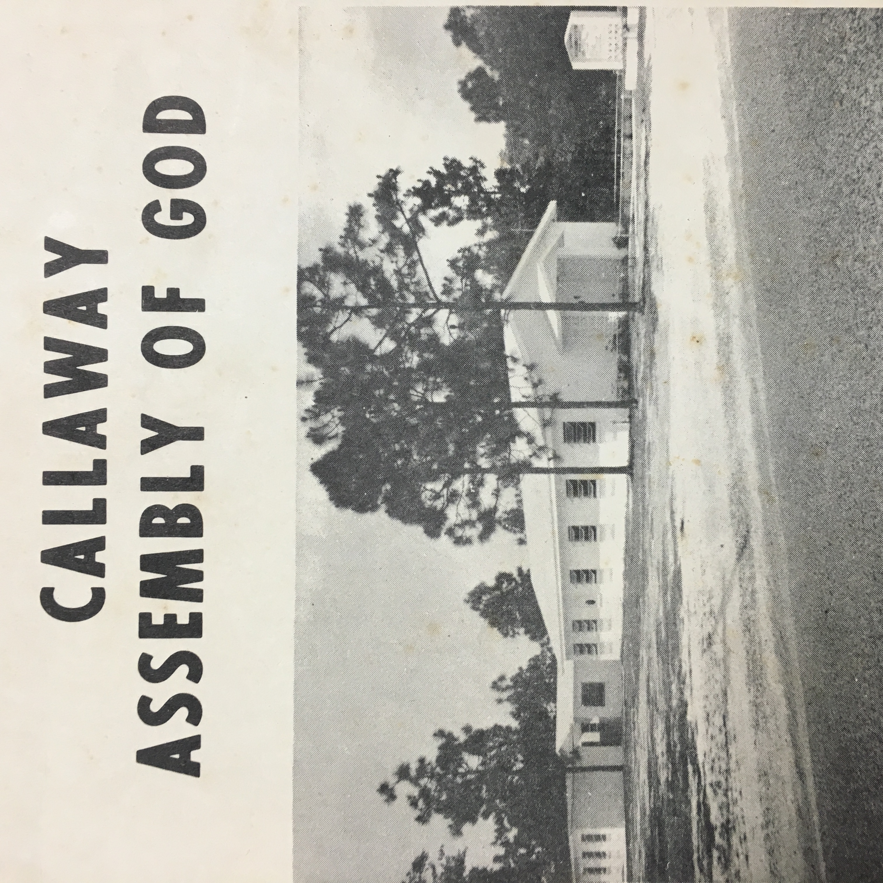 Callaway Assembly of God | History