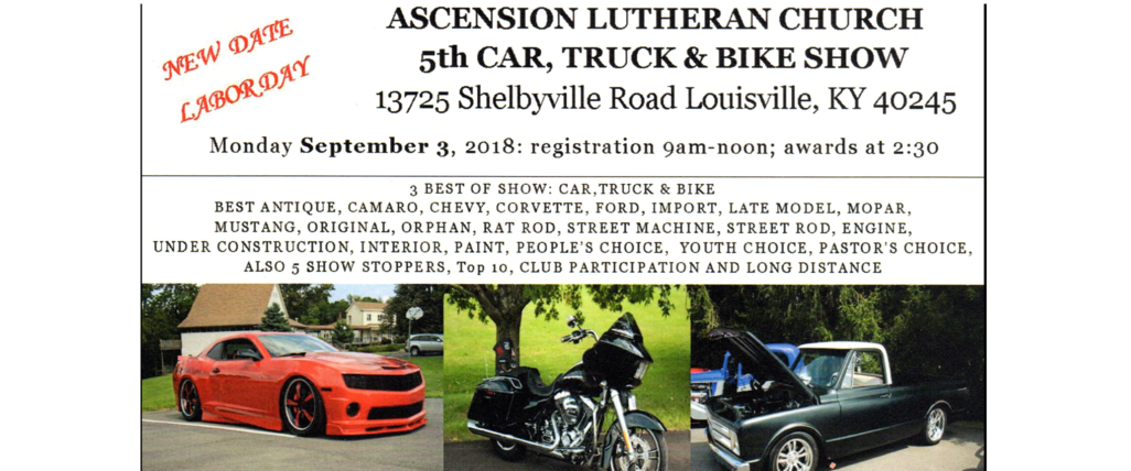 Ascension Lutheran Church Car Show - Car show louisville ky