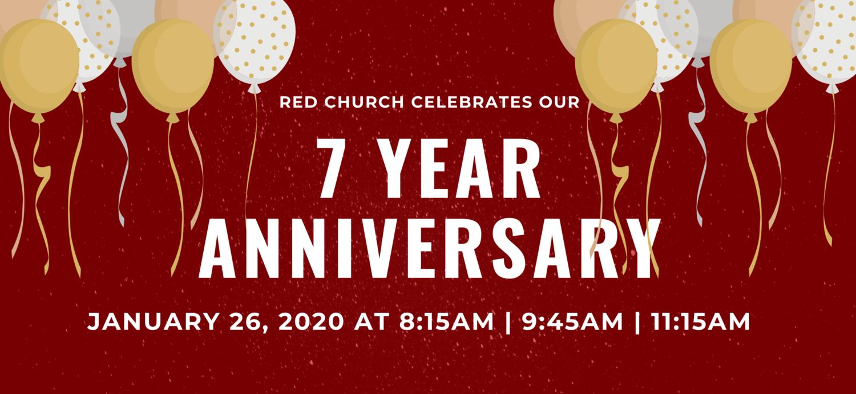 7-Year Anniversary Service