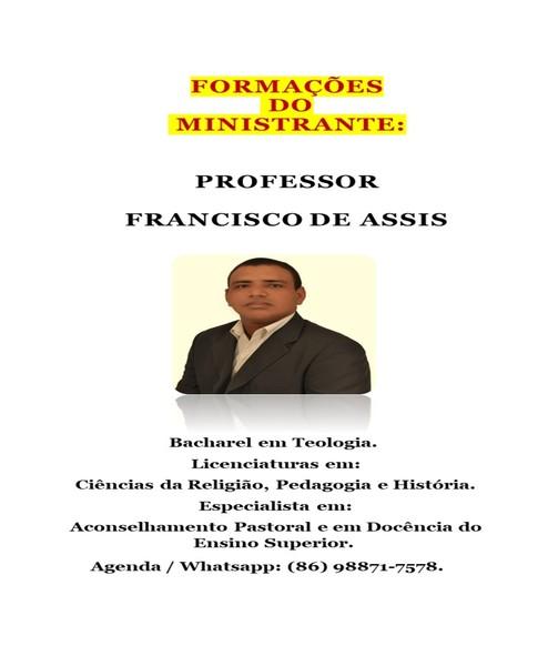 Professor Francisco de Assis