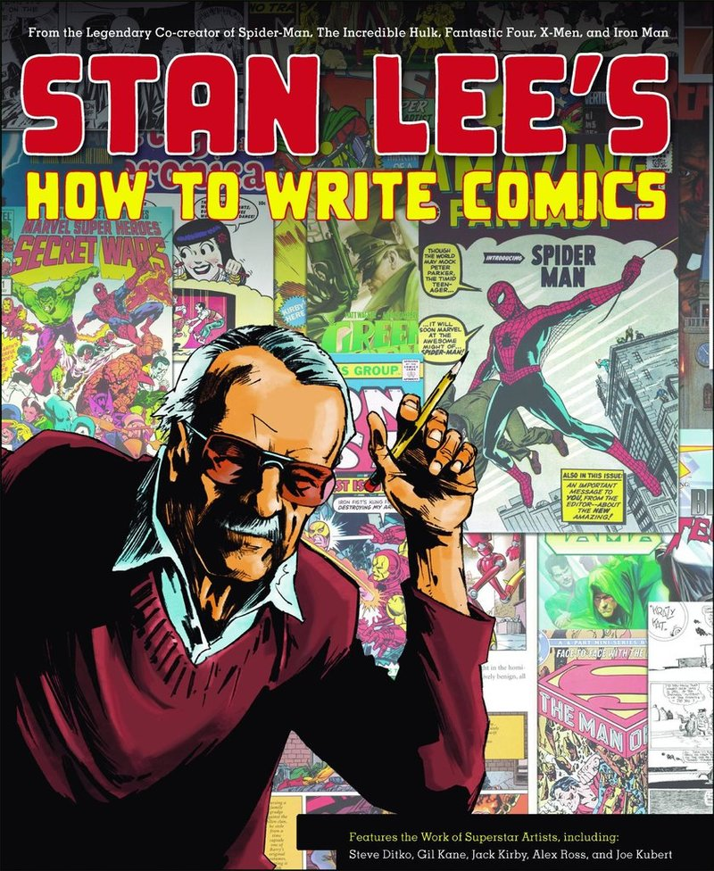 how to write a comic book pdf