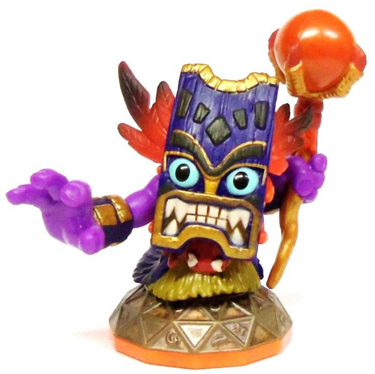 do you have these five collectible magic skylanders