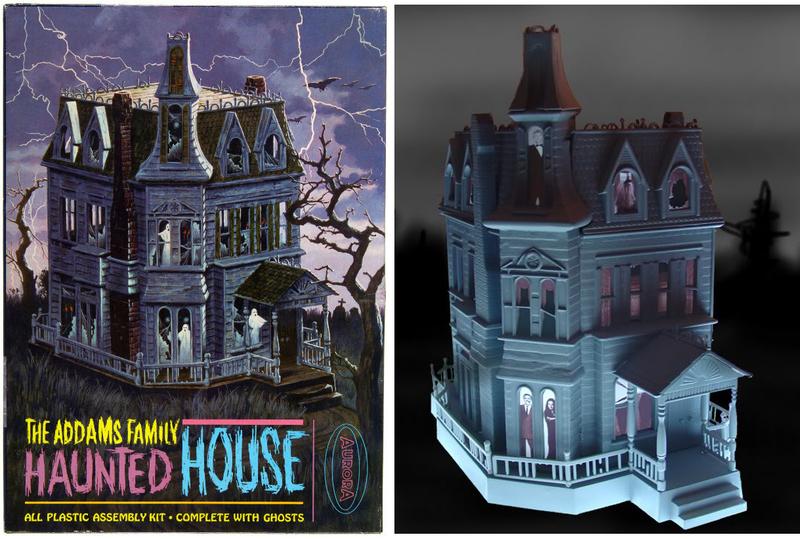 Addams Family Values Dollhouse Angled Interior View