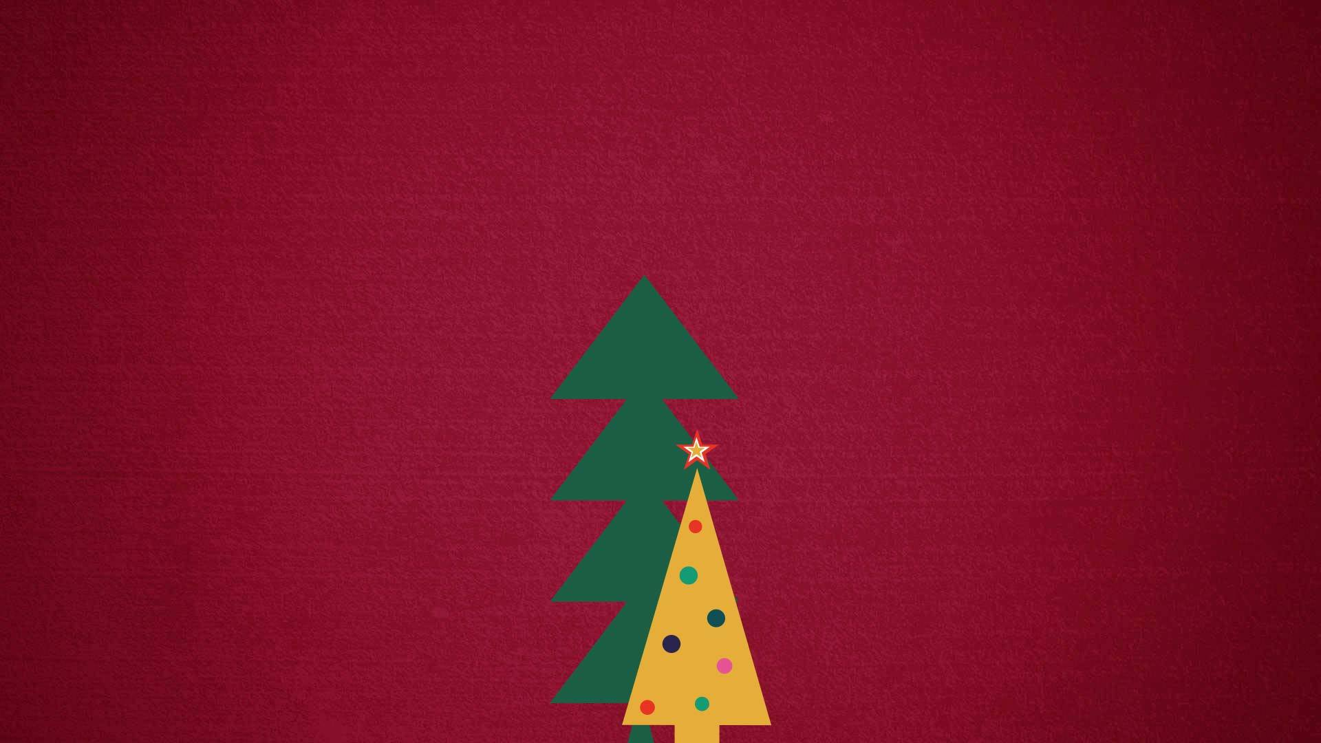 Countdownto Christmas Red Background