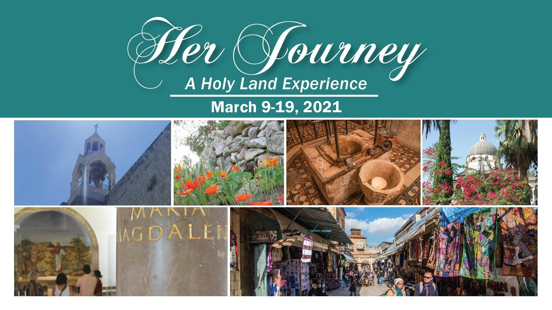 Her Journey Holy Land Trip 2021