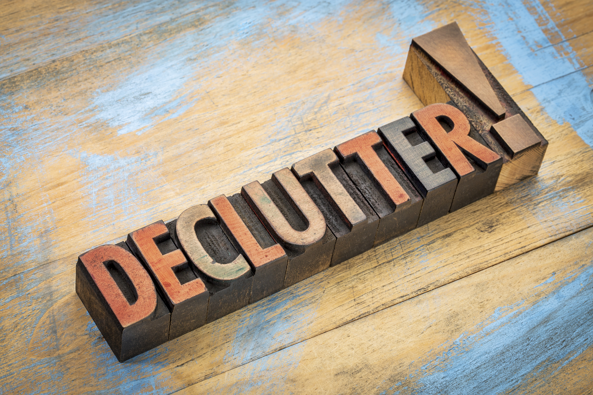 Declutter and Simplify Class