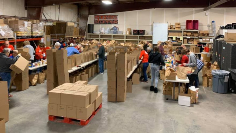 Hunger Stoppers Food Sort - March 2