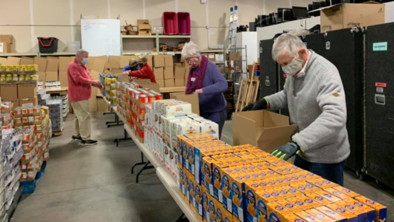 Hunger Stoppers Sorting Team