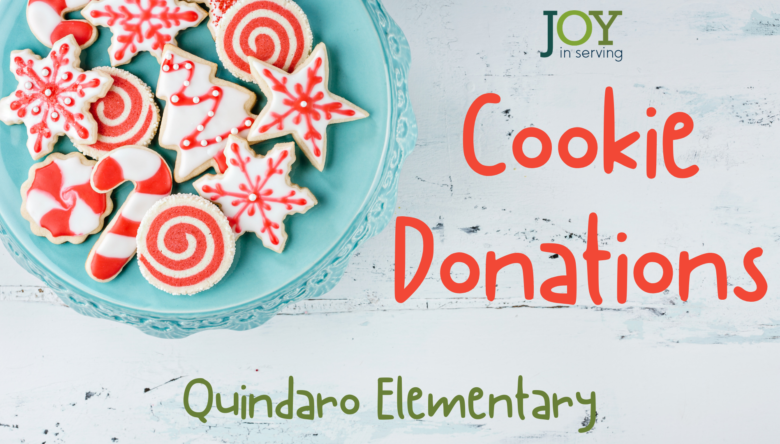 Christmas Cookie Donations for Quindaro Elementary Staff