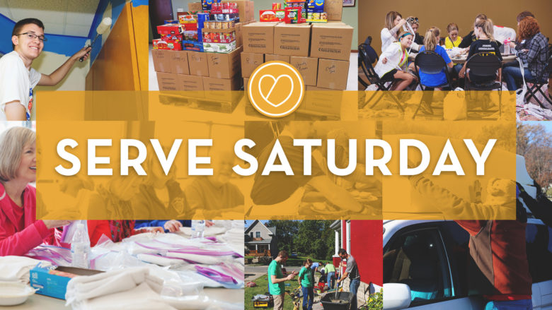 Serve Saturday at Resurrection Leawood
