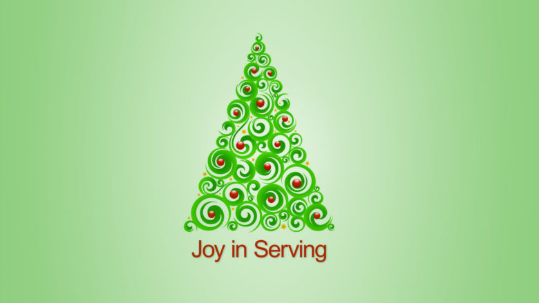 JOY in Serving
