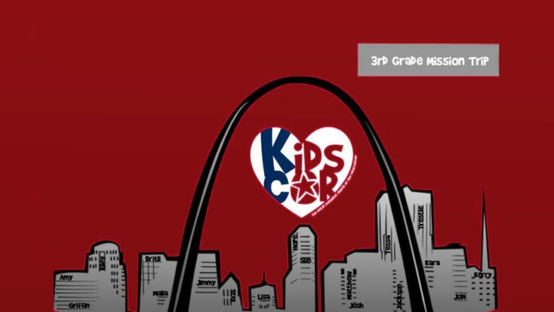 Third Grade Faith Passage Mission Trip (St. Louis) - April 17 to April 20, 2020 - Register here!