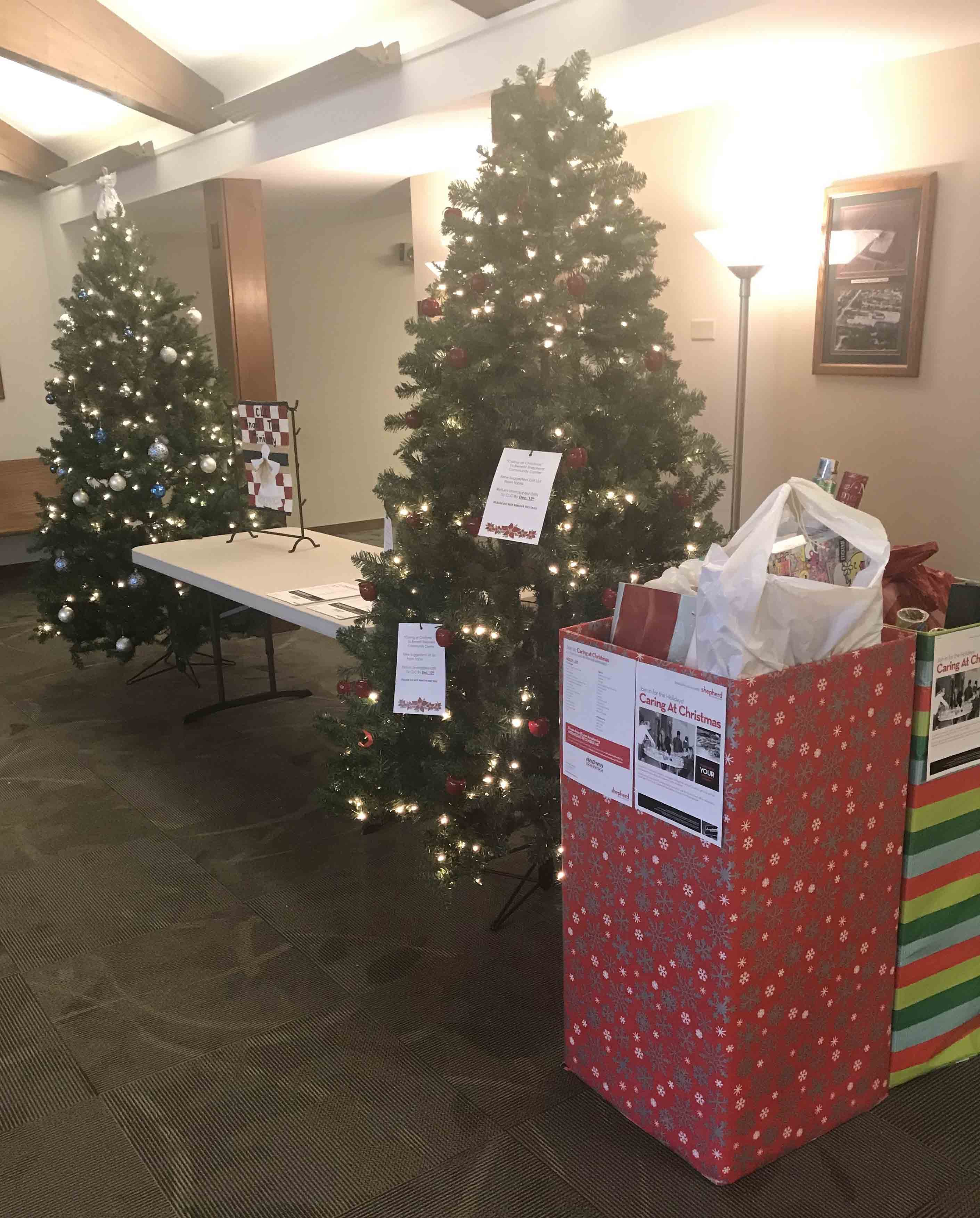 Donate to gift drives at CLC