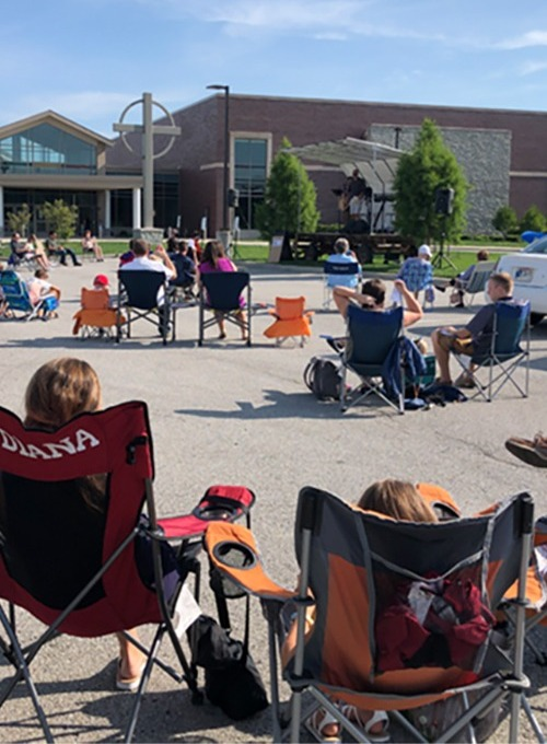 June Outdoor Worship Services