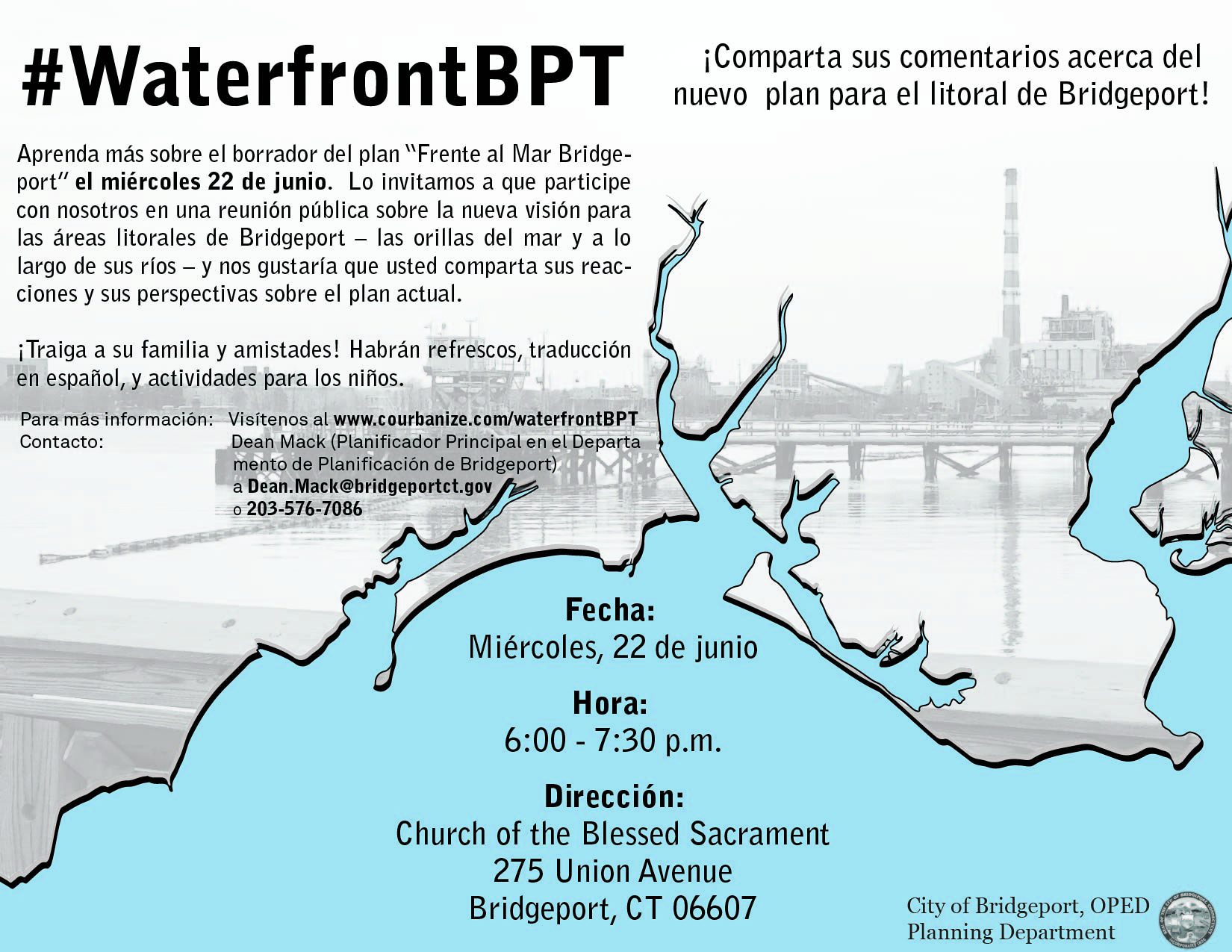 Bridgeport Waterfront Plan   CivicMoxie   Bridgeport, CT