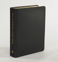 The Lutheran Study Bible - Larger Print - Black Genuine Leather
