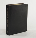 The Lutheran Study Bible - Black Bonded Leather - Thumb Indexed