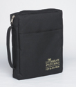 The Lutheran Study Bible Cover - Black - Regular Size