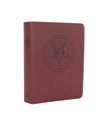 The Lutheran Study Bible - Luther's Rose - Brown/Burgundy