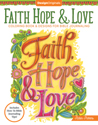 Faith, Hope, & Love Coloring Book