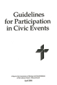 Guidelines for Participation in Civic Events - CTCR