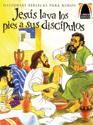 Libros Arco: Jesús lava los pies a sus discípulos (Arch Books: Jesus Washes Peter's Feet)