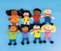 Títeres Ana y Agustín (Ana and Agustin puppets) (puppets will vary)