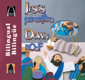 Libros Arco bilingües: Jesús sana a un paralítico (Bilingual Arch Books: Down Through the Roof)