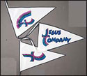 Jesus Company - Logo Pennants
