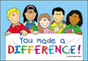 You Made a Difference Postcards (Pack of 36)
