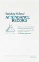 Attendance Record Booklet