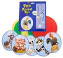 """Farm Animal Whirls, 3' 4"""" (Pack of 5) - VBS 2016"""