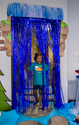 Waterfall Door Curtain with Border - VBS 2018