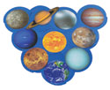 Solar System Whirls (Pack of 10)
