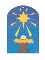 Jesus Is Born Sand Art (Craft, Pack of 12) - VBS 2019
