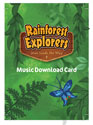 Rainforest Explorers Music Download Card - VBS 2020