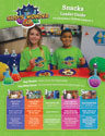 God's Wonder Lab Snack Leader Guide - VBS 2021