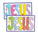 Jesus Sand Art (Craft, Pack of 12) - VBS 2021