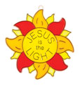 Jesus is the Light Suncatcher Craft (Pack of 12) - VBS 2021
