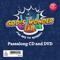 God's Wonder Lab Passalong CD & DVD - VBS 2021