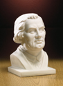 Luther Bust with White Bisque Finish