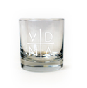 Heavy Base VDMA Etched Glass 11 oz.