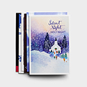 Religious Scenes - 48 Christmas Boxed Cards Assortment