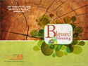 Blessed to Be a Blessing Wallpaper 1024 x 768 (Downloadable)