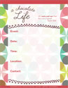 A Chocolate Life Promotional Poster (Downloadable)