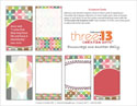 A Chocolate Life Verse Card Template (Downloadable)