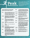 Peak Performance Litany (Downloadable)